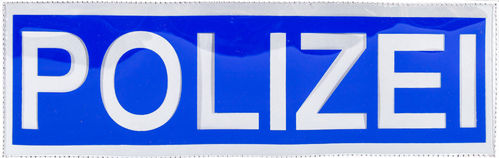 FOLIEN-PATCH 3000-POLIZEI blau